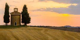 Atemberaubende Weinberge und Weingüter in der Toskana zu besuchen